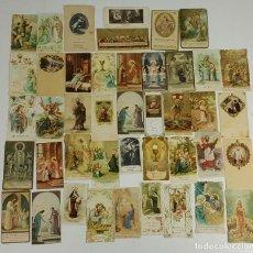 Postales: COLECCIÓN DE 43 ESTAMPAS RELIGIOSAS. ESPAÑA. SIGLO XX. . Lote 119926639