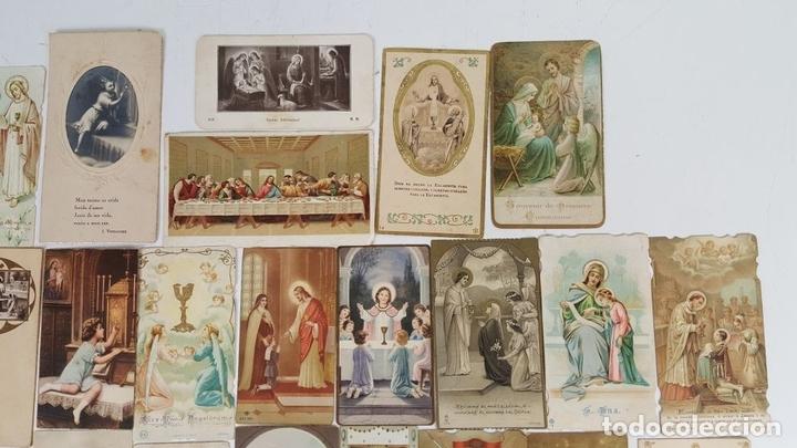 Postales: COLECCIÓN DE 43 ESTAMPAS RELIGIOSAS. ESPAÑA. SIGLO XX. - Foto 2 - 119926639