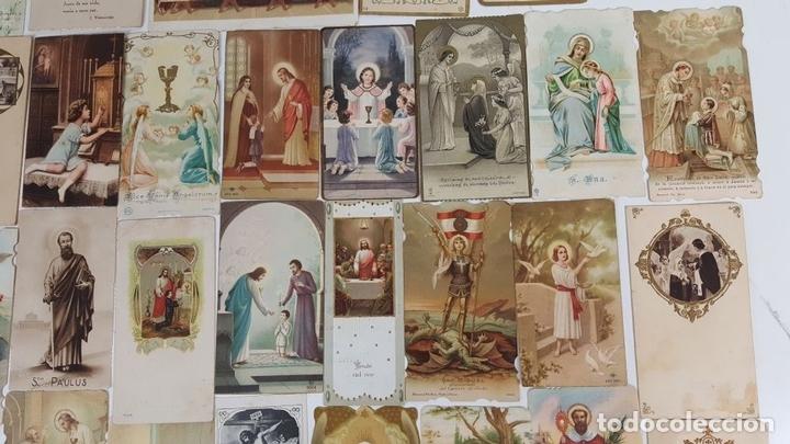 Postales: COLECCIÓN DE 43 ESTAMPAS RELIGIOSAS. ESPAÑA. SIGLO XX. - Foto 3 - 119926639