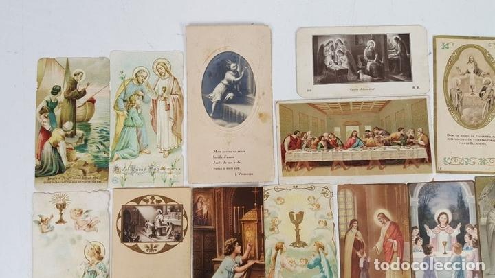 Postales: COLECCIÓN DE 43 ESTAMPAS RELIGIOSAS. ESPAÑA. SIGLO XX. - Foto 5 - 119926639