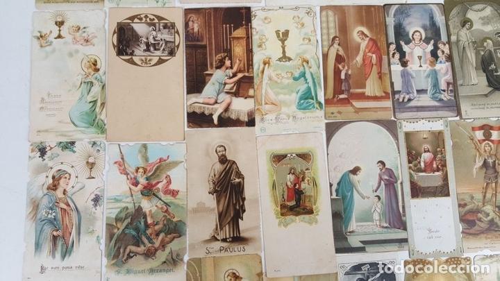 Postales: COLECCIÓN DE 43 ESTAMPAS RELIGIOSAS. ESPAÑA. SIGLO XX. - Foto 6 - 119926639