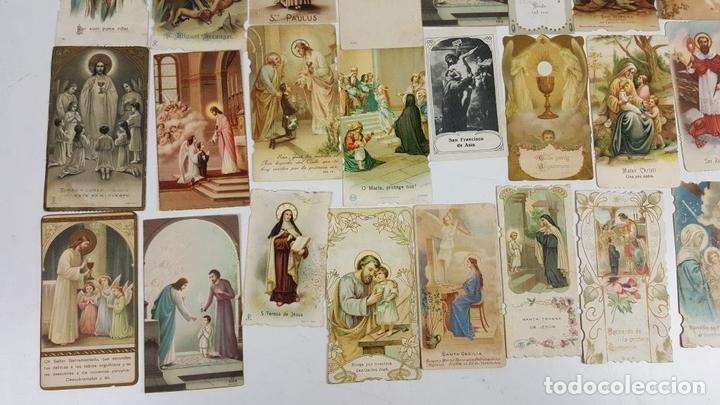 Postales: COLECCIÓN DE 43 ESTAMPAS RELIGIOSAS. ESPAÑA. SIGLO XX. - Foto 7 - 119926639