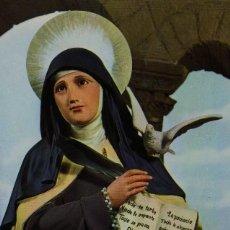 Postales: POSTAL RELIGIOSA . SANTA TERESA. Lote 119953507