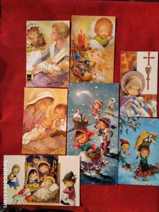 LOTE RECORDATORIOS CONSTANZA (Postales - Postales Temáticas - Religiosas y Recordatorios)
