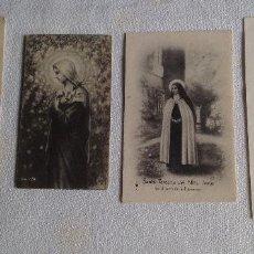 Postales: ANTIGUOS RECORDATORIOS - ORACIONES RELIGIOSAS. Lote 121432379