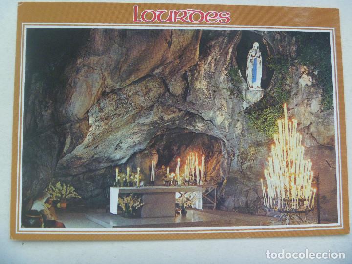 POSTAL DE LOURDES ( FRANCIA ) : LA GRUTA MILAGROSA (Postales - Postales Temáticas - Religiosas y Recordatorios)