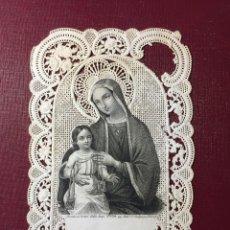Postales: ESTAMPA RELIGIOSA TROQUELADA.. Lote 121668591