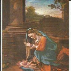Postales: POSTAL DONATIVO CRUZ ROJA *LA VIRGEN CON EL NIÑO JESUS* - CRUZ ROJA. Lote 122725183