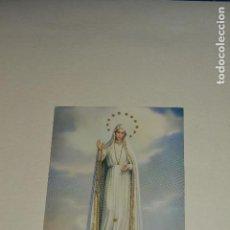 Postales: POSTAL SANTUS DE LA VIRGEN DE FATIMA. Lote 143541236