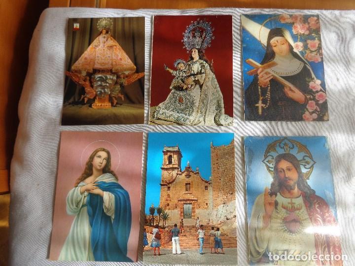 6 POSTALES RELIGIOSAS-VARIAS ESCENAS. (Postales - Postales Temáticas - Religiosas y Recordatorios)