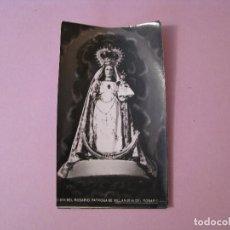 Postales: ESTAMPA RELIGIOSA FOTOGRÁFICA. NTRA SRA DEL ROSARIO VILLANUEVA DEL ROSARIO, MALAGA 1971.. Lote 125220931