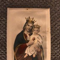 Postales: NUESTRA SEÑORA DEL SAGRADO CORAZÓN. ESTAMPA RELIGIOSA (H.1930?). Lote 125238424
