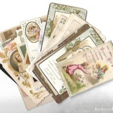 Postales: LOTE DE 25 TARJETAS RELIGIOSAS. VARIAS IMAGENES. VER . Lote 125271531