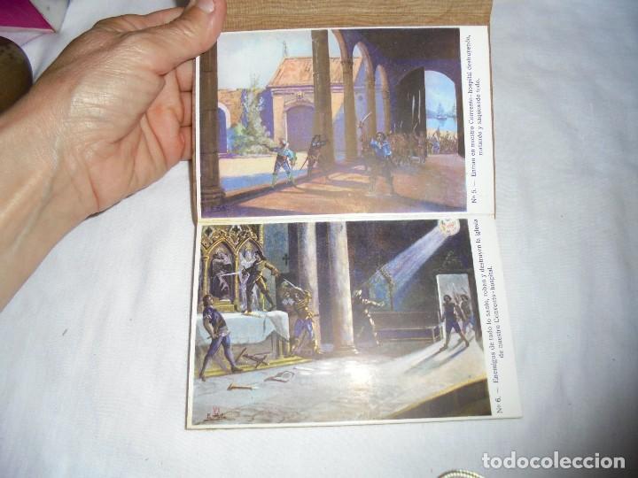Postales: ORDEN HOSPITALARIA DE SAN JUAN DE DIOS.RECUERDO DE LA EXPOSICION MISIONAL ESPAÑOLA BARCELONA 1929. - Foto 5 - 125441195