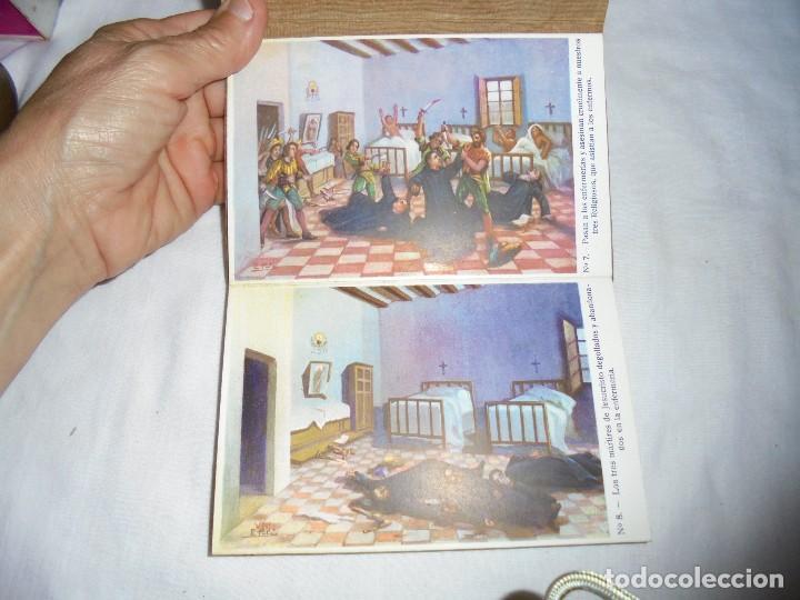 Postales: ORDEN HOSPITALARIA DE SAN JUAN DE DIOS.RECUERDO DE LA EXPOSICION MISIONAL ESPAÑOLA BARCELONA 1929. - Foto 6 - 125441195