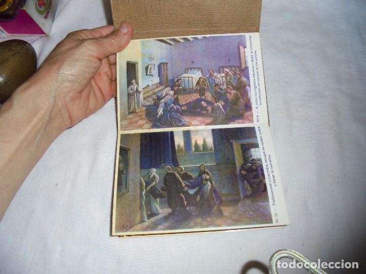 Postales: ORDEN HOSPITALARIA DE SAN JUAN DE DIOS.RECUERDO DE LA EXPOSICION MISIONAL ESPAÑOLA BARCELONA 1929. - Foto 7 - 125441195