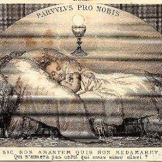 Postales: ESTAMPITA ANTIGUA PARVULUS PRO NOBIS. Lote 126018575