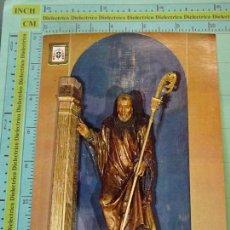 Postales: POSTAL RELIGIOSA SEMANA SANTA. AÑO 1969, SAN BENITO RETABLO SAN BENITO EL REAL VALLADOLID. 1891. Lote 126066843