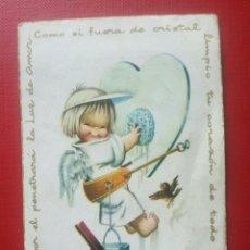 Postales: BONITA ESTAMPA RECUERDO RECORDATORIO COMUNION FERRANDIZ 1962 MADRID. Lote 126071556