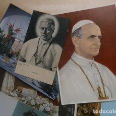 Postales: LOTE DE 30 POSTALES RELIGIOSAS Y ESTAMPAS. Lote 126163643