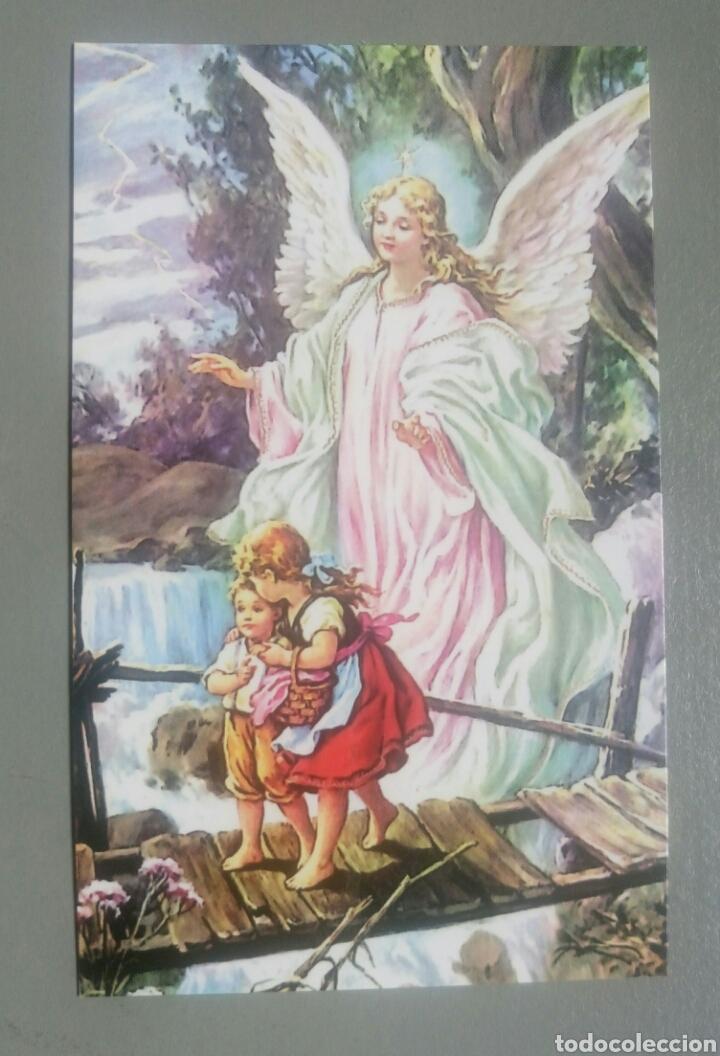 Estampa Religiosa Oracion Angel De La Guarda Kaufen Alte Religiöse