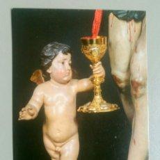 Postales: POSTAL RELIGIOSA ANGEL CRISTO DE LA SANGRE MURCIA NICOLAS DE BUSSY. Lote 127135199