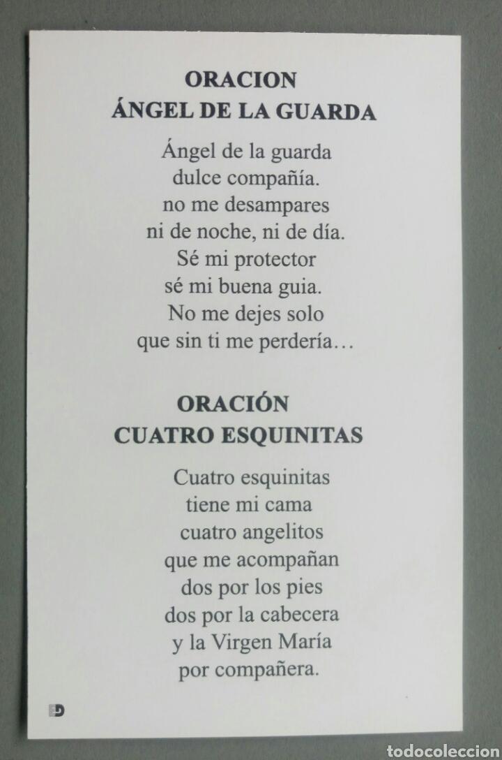Bonita Estampa Religiosa Angel De La Guarda Ora Comprar Postales