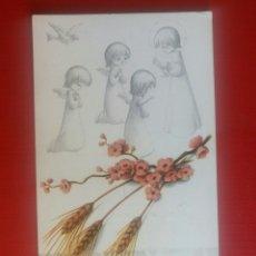 Postales: ESTAMPA RECUERDO RECORDATORIO COMUNION 1972. Lote 127752239
