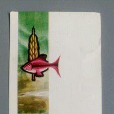 Postales: ESTAMPA RECUERDO RECORDATORIO COMUNION 1972. Lote 127882110