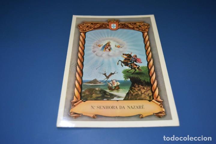 POSTAL SIN CIRCULAR - NUESTRA SEÑORA DE NAZARE - PORTUGAL - EDITA LINOBETA (Postales - Religiosas y Recordatorios)