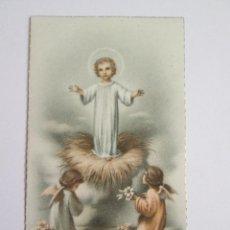 Postales: ESTAMPA RECORDATORIO COMUNION - 1956 - GRANADA. Lote 128134707