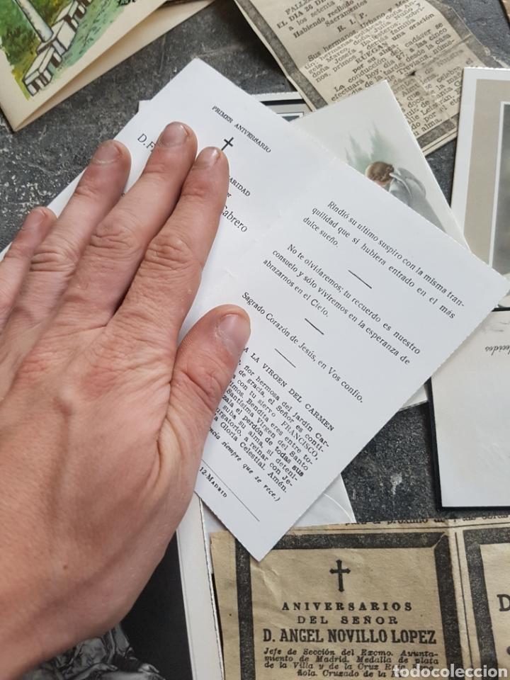 Postales: Lote recordatorios, estampas, esquelas... madrid 1970s - Foto 2 - 128280080