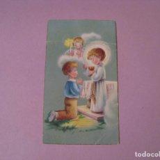 Cartes Postales: RECORDATORIO DE PRIMERA COMUNIÓN. ED. C. Y Z. MALAGA. 1961. 10X6 CM.. Lote 128583107