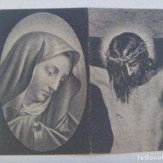 Postales: RECORDATORIO DE SEÑOR FALLECIDO EN 1940 EN EJEA DE LOS CABALLEROS ( ZARAGOZA). Lote 180276056