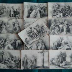 Postales: 13 POSTALES VIA CRUCIS .- EDICION CASA BAÑERES NB. Lote 129492930