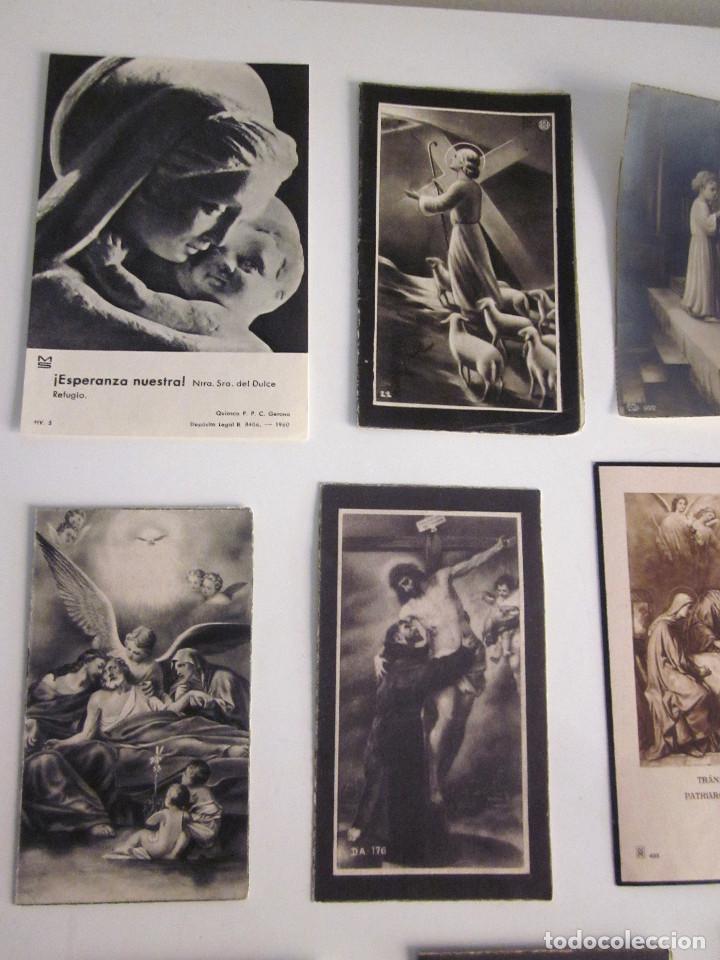 Postales: Lote 11 Recordatorios Funerarios Defunción Fallecimiento religiosos esquelas 1939 - 1961 - Foto 2 - 129956251
