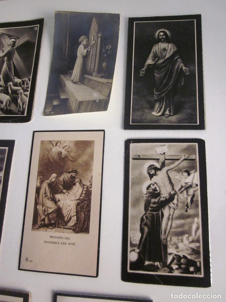 Postales: Lote 11 Recordatorios Funerarios Defunción Fallecimiento religiosos esquelas 1939 - 1961 - Foto 3 - 129956251