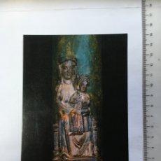 Postales: POSTAL RELIGIOSA. MONTBLANCH. TARRAGONA. MARE DE DEU DE LÁ CREU VERDA. RAYMOND. H. 1965?. Lote 130573375