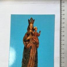 Postales: POSTAL RELIGIOSA. MONTBLANCH. TARRAGONA. SANTA MARIA. RAYMOND. H. 1965?. Lote 130573634