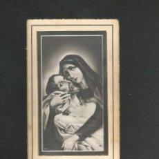 Postales: RECORDATORIO RELIGIOSO - IN MEMORIAN 1934 - REPUBLICA ESPAÑOLA - VALLADOLID . Lote 130885488
