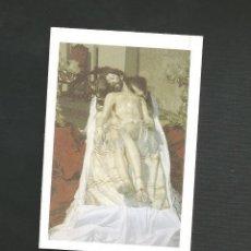 Postales: RECORDATORIO RELIGIOSO - SEMANA SANTA VALLADOLID - YACENTE DE SAN PABLO. Lote 130885968
