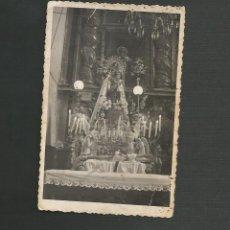 Postales: RECORDATORIO RELIGIOSO FOTOGRAFICO - VIRGEN DE RUBIALEJOS - QUINTANILLA - VALLADOLID. Lote 130886188