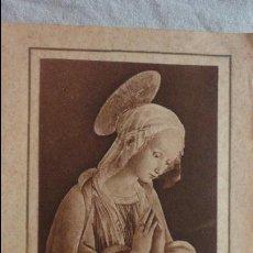 Postales: RECUERDO PRIMERA COMUNION.MARIA Y JOAN MARIA OLIVERES I CASANOVAS.BARCELONA 1931. Lote 131072892