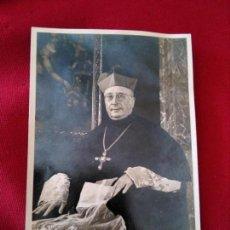 Postales: ESTAMPA RELIGIOSA FOTOGRAFÍA OBISPO IDENTIFICAR. Lote 131087988
