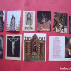 Postales: CRISTOS.-ESTAMPAS RELIGIOSAS.-LOTE DE 10 ESTAMPAS RELIGIOSAS DISTINTAS DE CRISTOS.. Lote 131095668