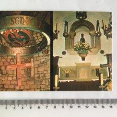 Postales: POSTAL RELIGIOSA. MONTGRONY. GIRONA. SANTUARI. H. 1975?. Lote 131250635