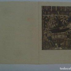 Postales: RECORDATORIO DE SEÑORA VIUDA FALLECIDA EN BARCELONA EN 1948. Lote 131330850