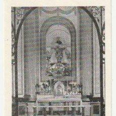 Postales: ESTAMPA CAPILLA COMUNION Y VIRGEN DE LOS DESAMPARADOS DE IBI ALICANTE 1948 - -C-4. Lote 131591682