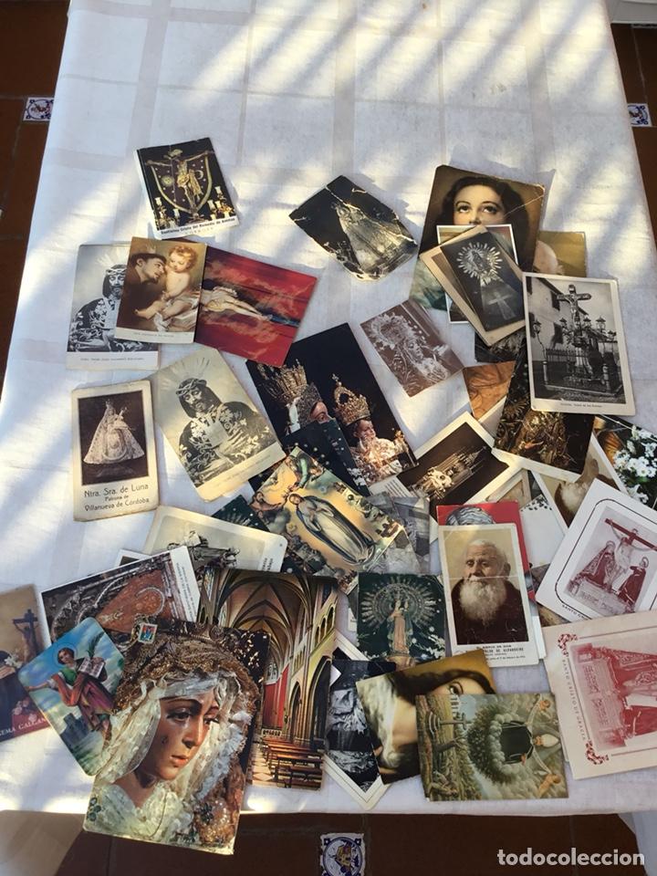 Postales: Lote estampas religiosas, postales, fallecimientos .... - Foto 2 - 131940950
