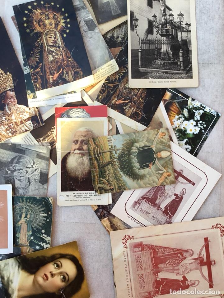 Postales: Lote estampas religiosas, postales, fallecimientos .... - Foto 3 - 131940950